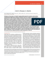Management of Crohn ' s Disease in Adults