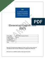 EET Sample Test2