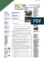 TJ Diagnostic Codes