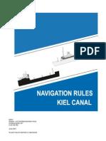 Regulations KIEL CANAL