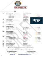 East Midlands Speakers Draft Programme for 18th July 2011