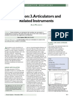Articulators and Related Instruments