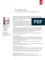 Adobe Indesign CS 5.5 Reviewers Guide