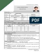 B School Internship Application Form b08117