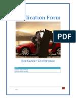 [Biz Career Conference] Application Form_ Vo Manh Hung