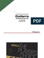 Festival Internacional de Guitarra Clásica 'Ciudad de Coria' 2011