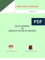 Management of -Dengue Fever in Children