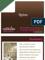 Thailand Medical Tourism_Spine