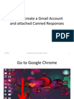 How to Create a Gmail Account and Canned Response for Online Assistant