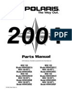 2004 polaris msx110 watercraft parts manual