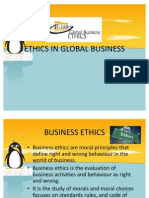 Ethics in Global Business