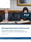 Reinvigorating Antitrust Enforcement