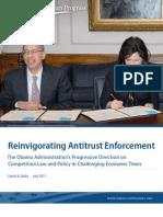Reinvigorating Antitrust Enforcement