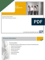 SAP HCM Overview