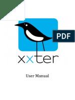 User Manual Xxter