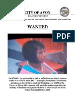 Theft Suspect Report