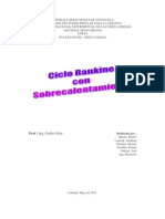 Ciclo Rankine Con to