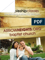 Arrow Heights Baptist Church Discipleship Fall 2008