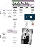 One Fit Mama Philly Summer Schedule 2011