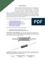 RESISTENCIAS y capacitores