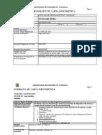 Carta Descriptiva Nuevo Programa de La Materia 2010 Tecnicas de Sonido