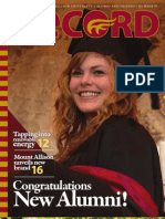 Mount Allison University -- The Record (Summer 2011)