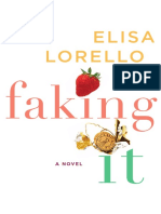 Faking It by Elisa Lorello (Excerpt)