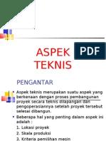 ASPEK TEKNIS