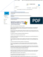 Formatear PC e Instalar Windows XP