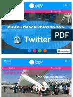 Taller Twitter -  Formación Social Media  Campus Party Valencia 2011
