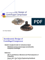 Aerodynamic Design of Centrifugal Compressor