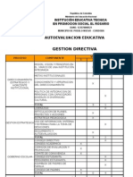 Auto Evaluacion Institucional 2010 - 2011