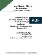 Mecroeconomics question and solution