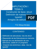 Arreglos de Estructuras Struct Typedef