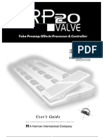 Digitech RP-20 Valve