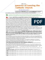 Reasons for and Consequences of Leaving the Catholic Church