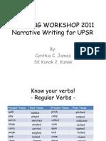 Narrative Writing for UPSR