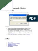 Comandos Windows