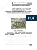 Articulo de divulgación sobre concretos autocompactables