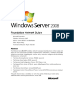 Windows Server 2008 Foundation Network Guide