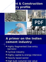 Cement and Construction