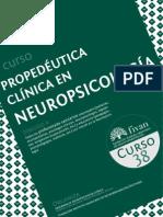 Propedéutica Clínica en Neuropsicología