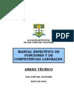 Manual de Funciones San Jose Del Guaviare
