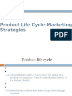 Product Life Cycle-Marketing Strategies