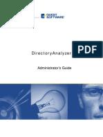 Directory Analyzer Admin Guide