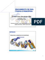 12 Sequenciamento DNA Metodos e Principios