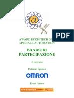 2011 Award Ecohitech Automation Bando