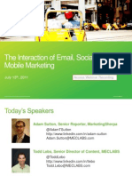 The Intersection of Email-Social-Mobile - Final 071111
