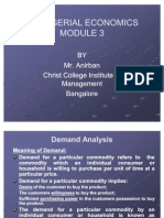 3. Demand Analysis