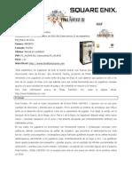 Final Fantasy XIV - informacion Completa